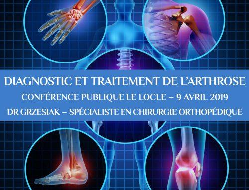 Conférence publique sur arthrose au Locle
